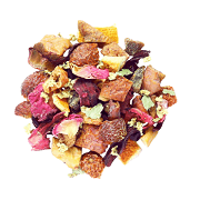 sweet rose buds fruity tea wholesale low minimum tea blend
