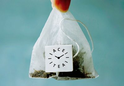 custom pyramid tea bags - triangle with personalized tags 三角茶包代工