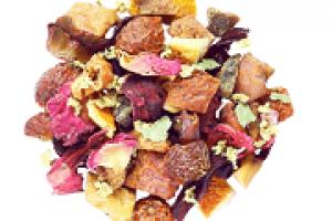 sweet strudel fruity tea